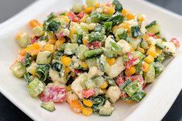 SakurAni's bunter Salat