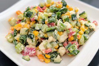 Sakuranis Salatteller