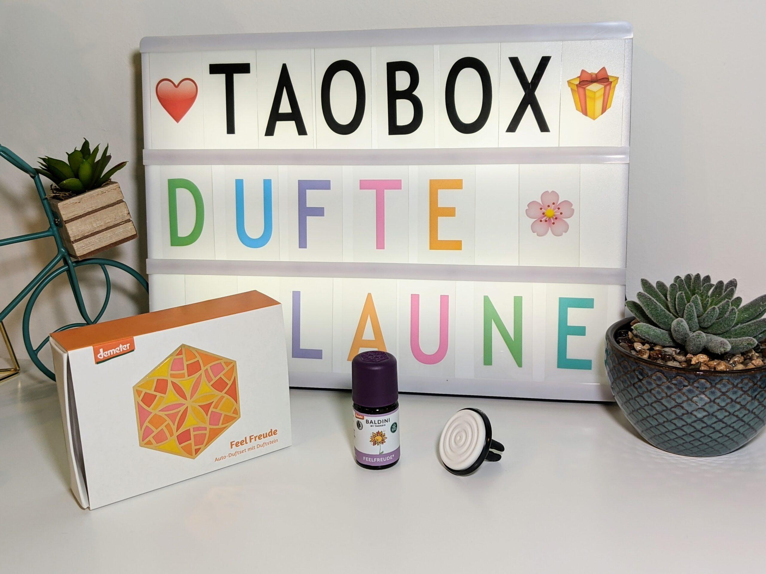 TaoBox – Dufte Laune – Auto-Duftset Feel Freude