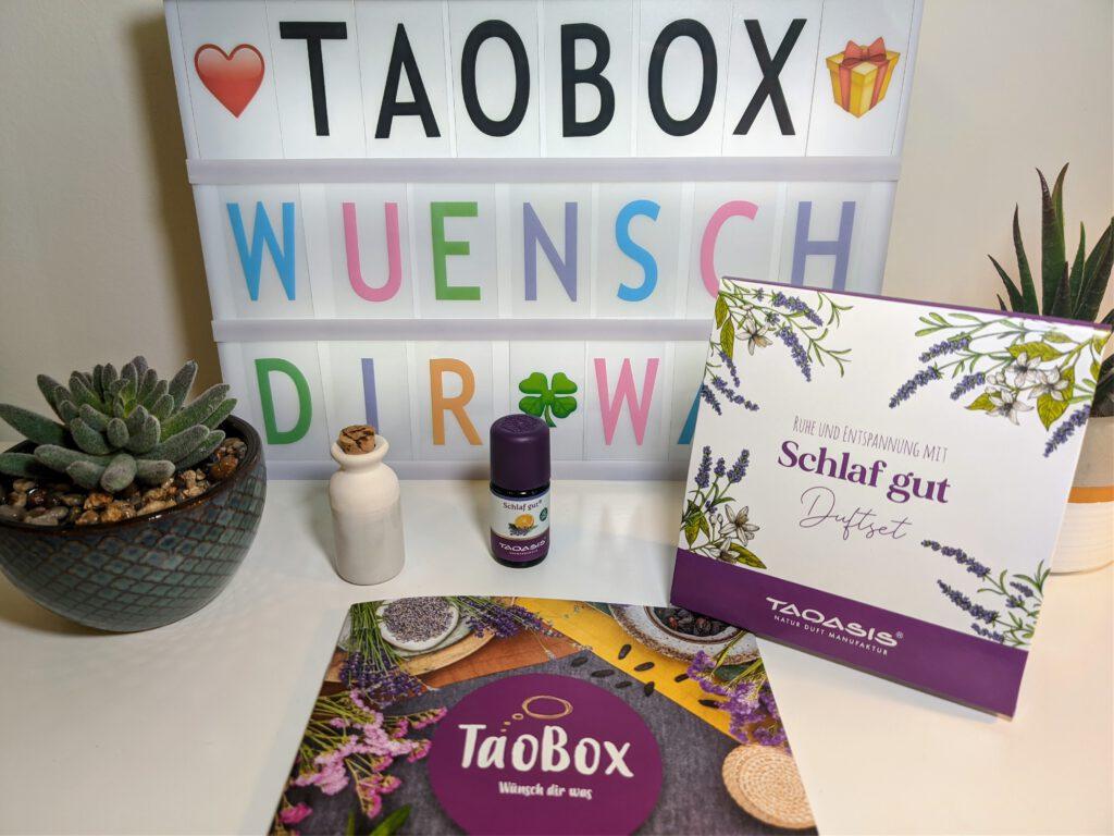 TaoBox - Wünsch dir was - Duftset Schlaf gut